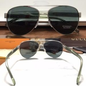 NWT Authentic Burberry Aviator Sun Glasses
